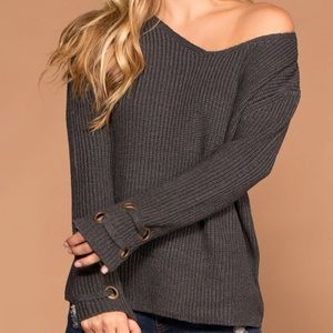 NEW Charcoal Grey Sweater